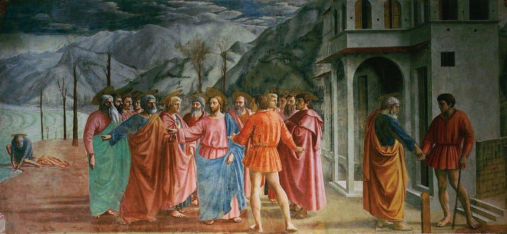 The Tribute Money, Masaccio
