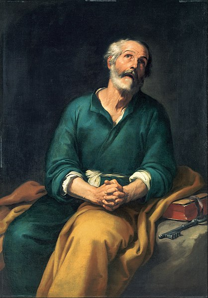 Murillo, St. Peter in Tears.