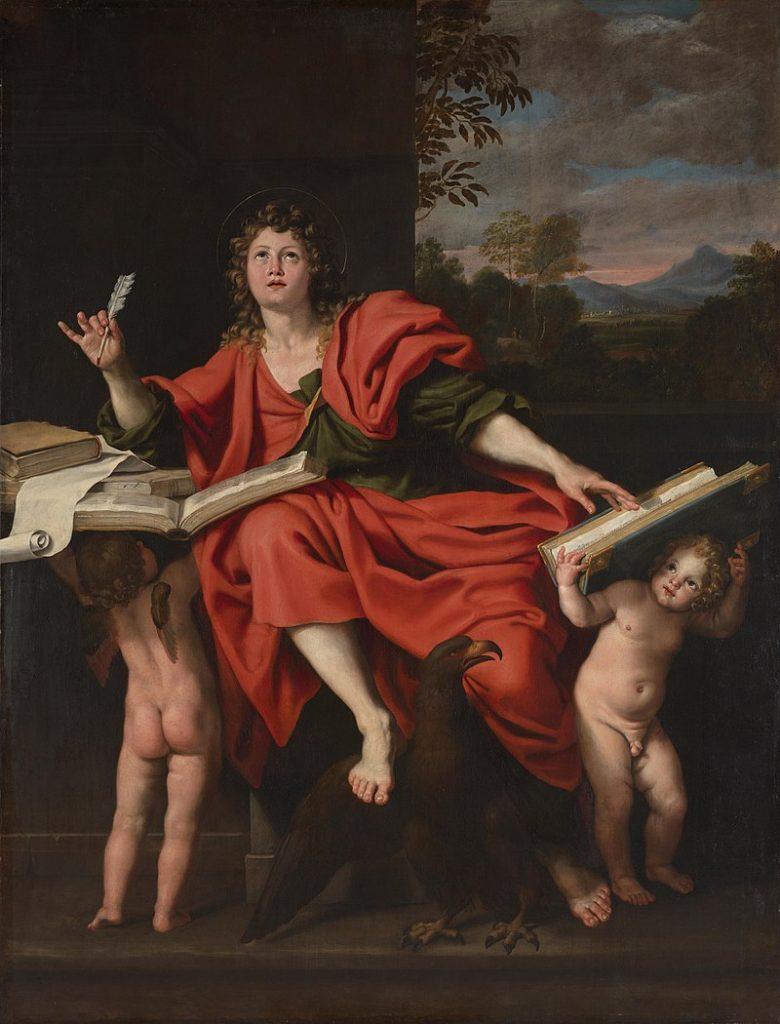 Saint John the Evangelist, Domenichino