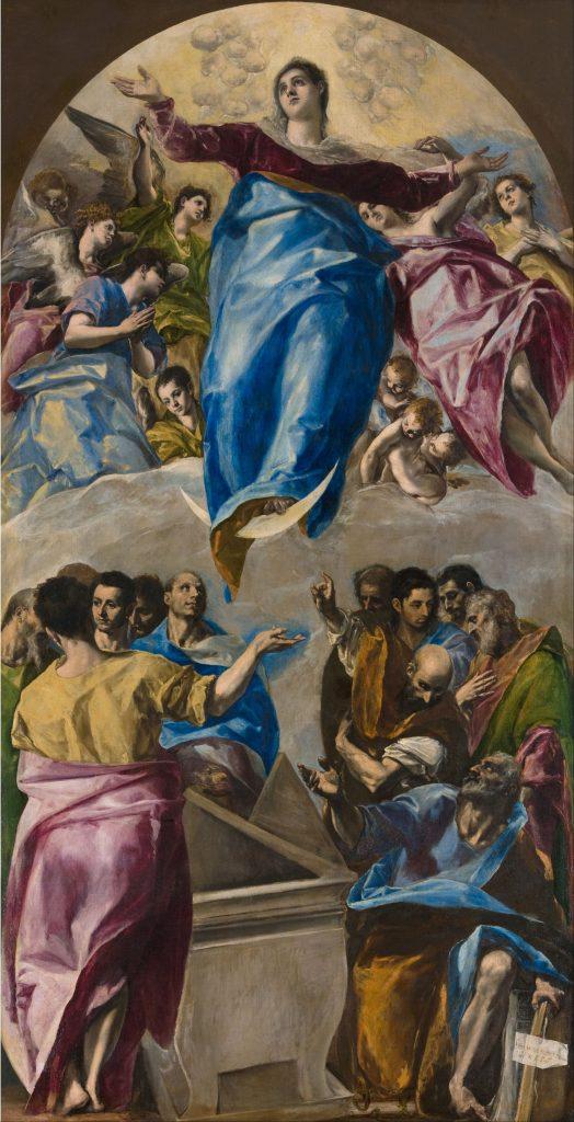 Assumption of the Virgin, El Greco.