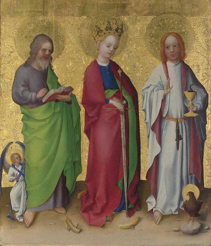 Stephan Lochner, Three Saints.