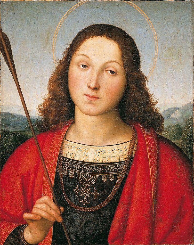 Raphael, St. Sebastian.