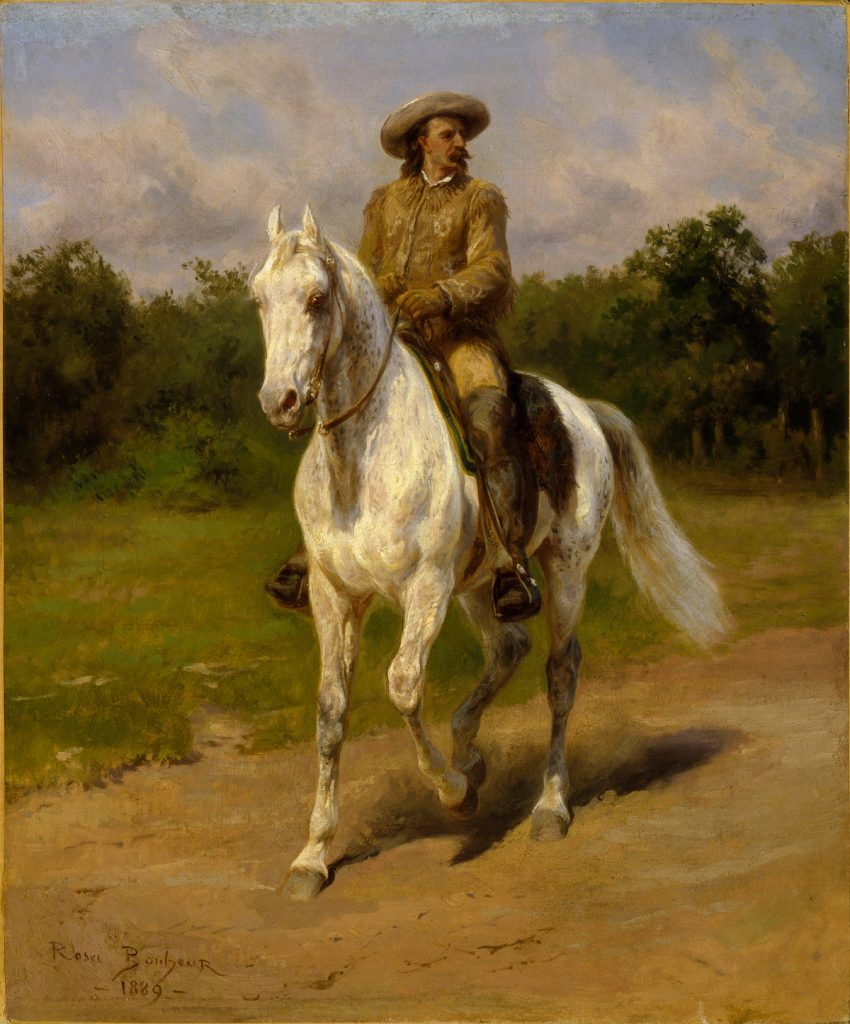 Col. William F. Cody by Rosa Bonheur, 1889. Image c/o Art Docent Program.