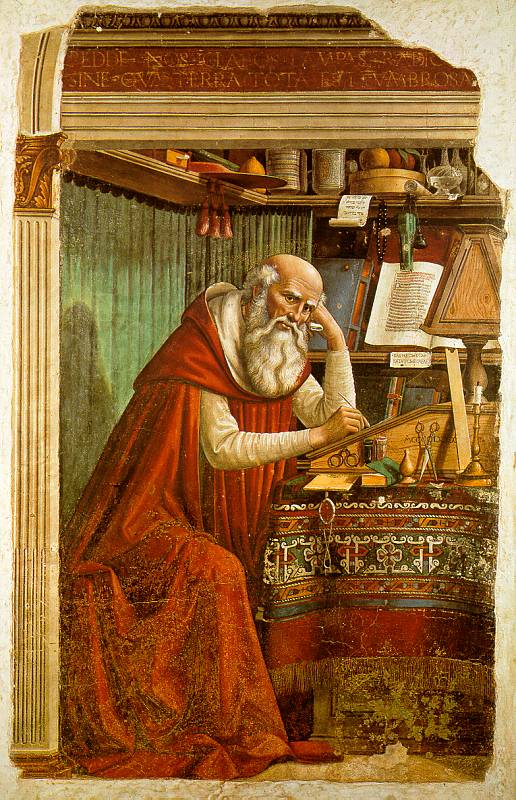 Ghirlandaio, St. Jerome in His Study