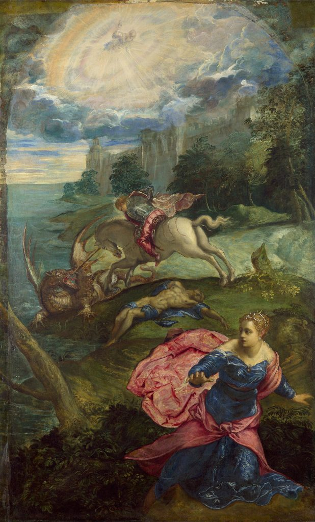 St. George Killing the Dragon, Tintoretto