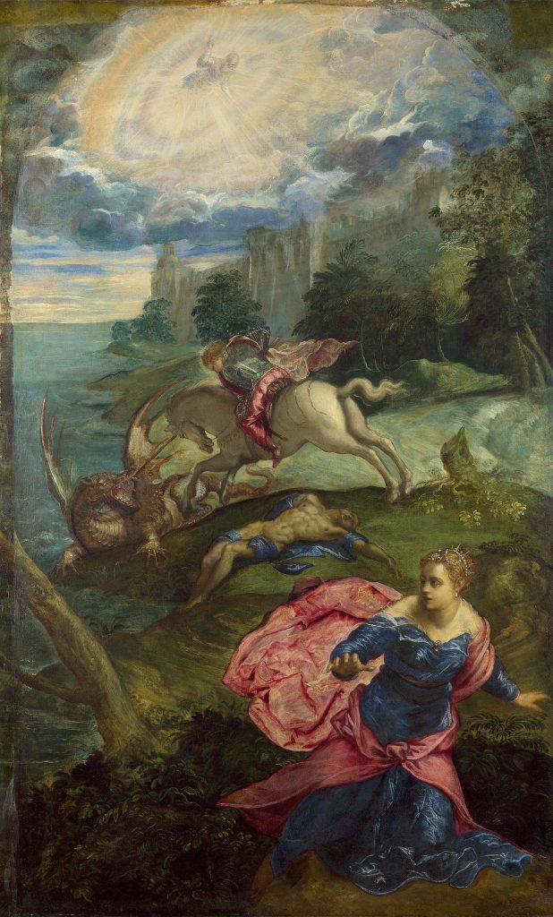 St. George Killing the Dragon, Tintoretto