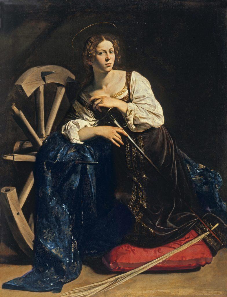 Caravaggio, St. Catherine.