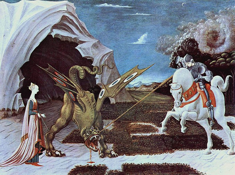 Uccello St. George and the Dragon