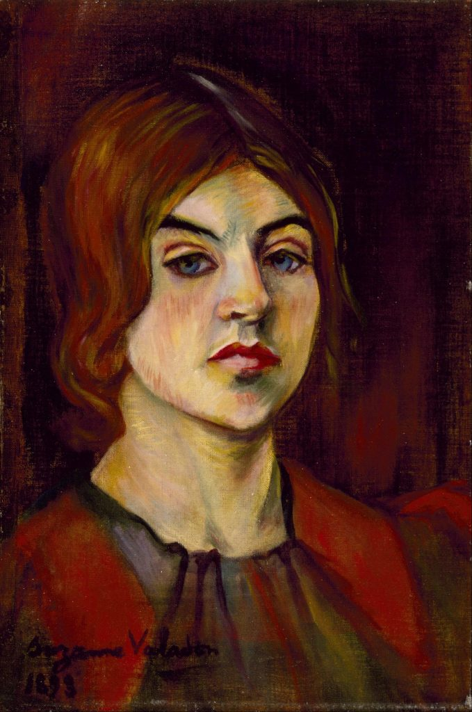 Self-Portrait by Suzanne Valadon, c. 1898. Image c/o Wikimedia via Bonjour Paris.