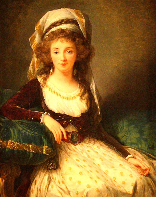 Portrait of a Lady by Élisabeth Vigée Le Brun, c. 1789. Image c/o Art Docent Program.