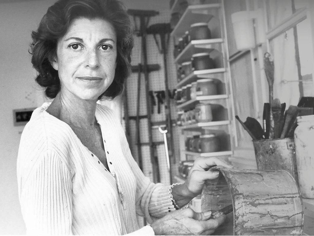 Helen Frankenthaler. Image c/o Sartle.