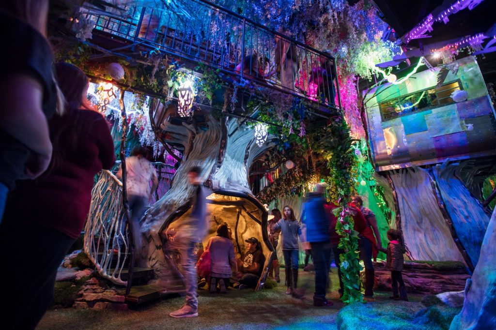 Meow Wolf's House of Eternal Return. Image c/o Meow Wolf's Facebook page.