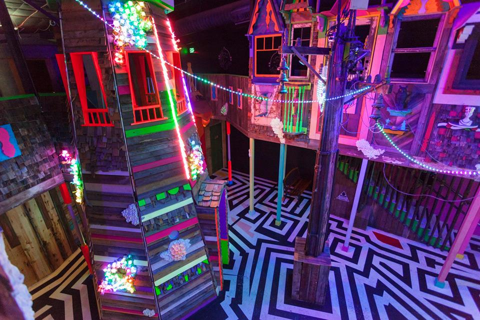 Inside Meow Wolf's House of Eternal Return. Image c/o Meow Wolf's Facebook page.
