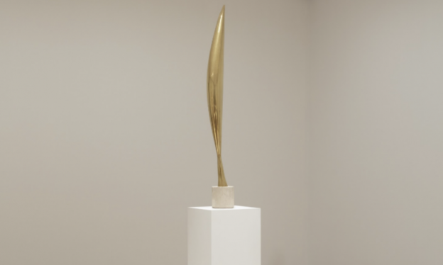 One of Brancusi's Bird in Space sculptures. Image c/o smarthistory.org.