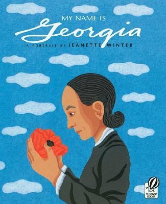 My Name is Georgia by Jeanette Winter. Image c/o Indiebound.