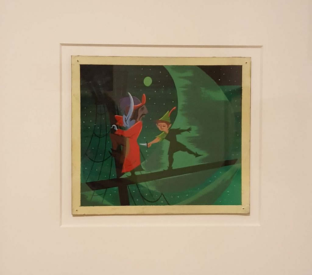 Mary Blair, Peter Pan Battles Captain Hook, 1951.