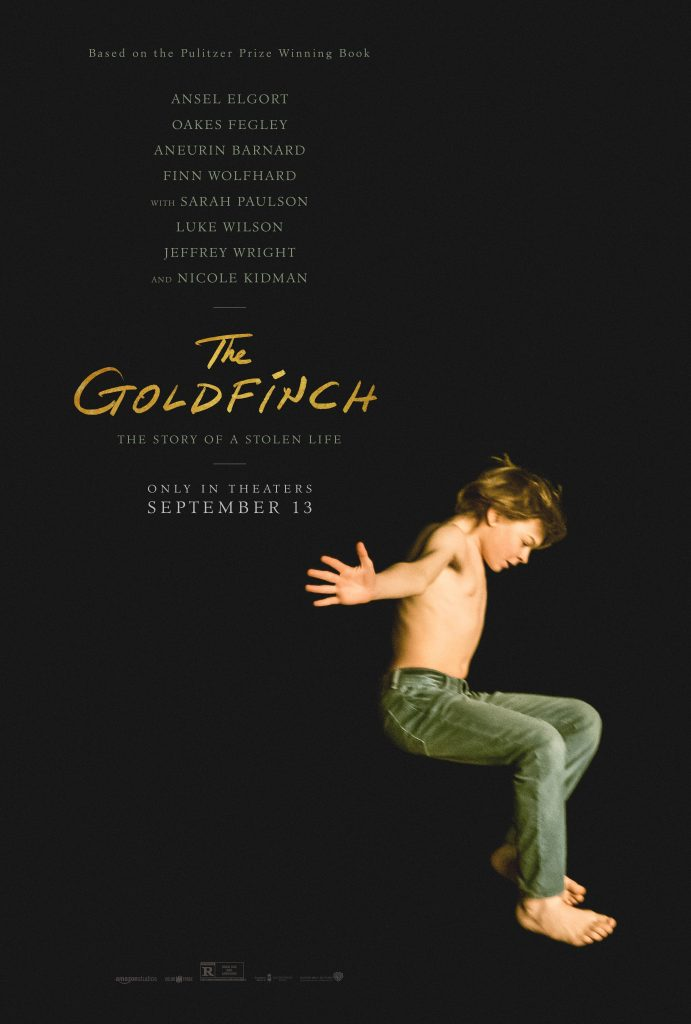 The Goldfinch movie poster, c/o IMDB.