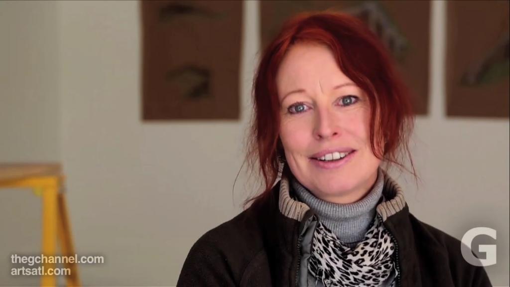 Cornelia Konrads. Image is a screenshot from https://vimeo.com/80396121.