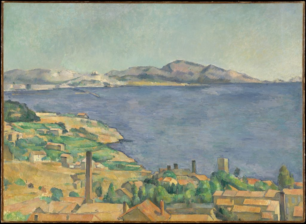 The Gulf of Marseilles Seen from L'Estaque, Paul Cézanne, c. 1885