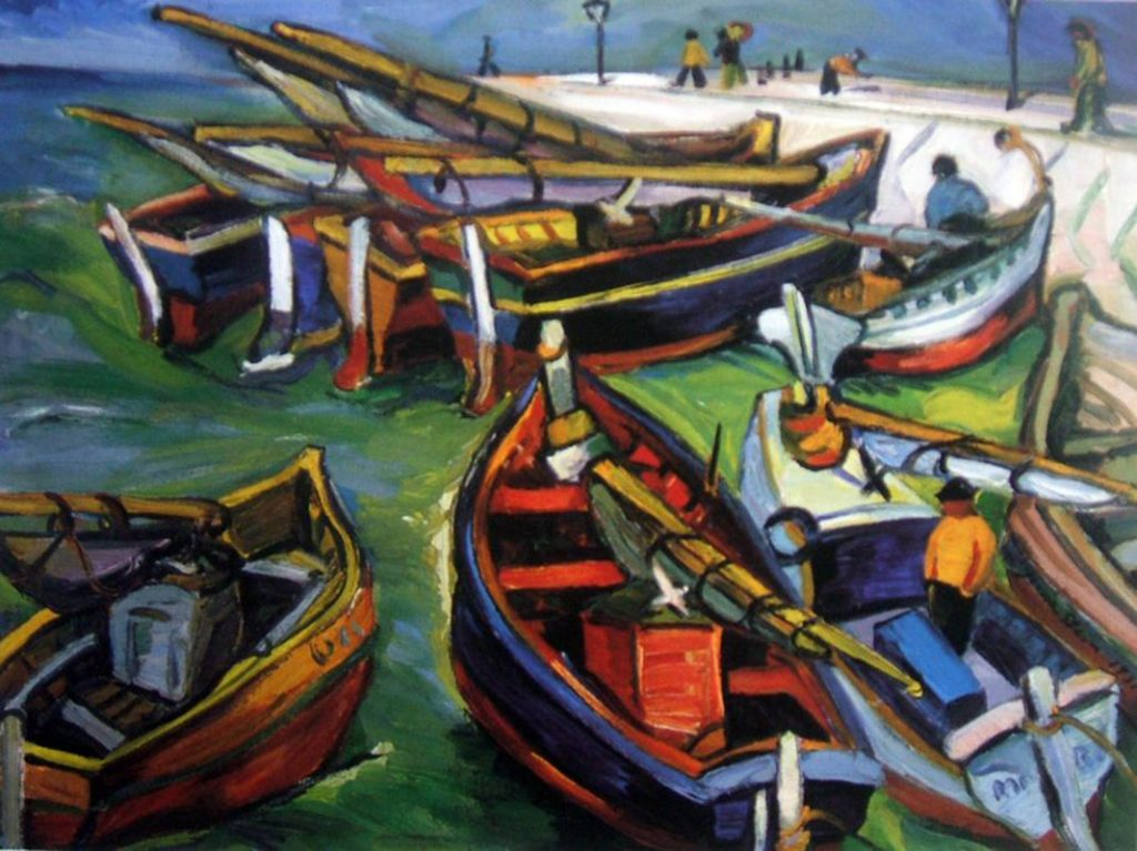 Fishing Boats, Irma Stern, c. 1931