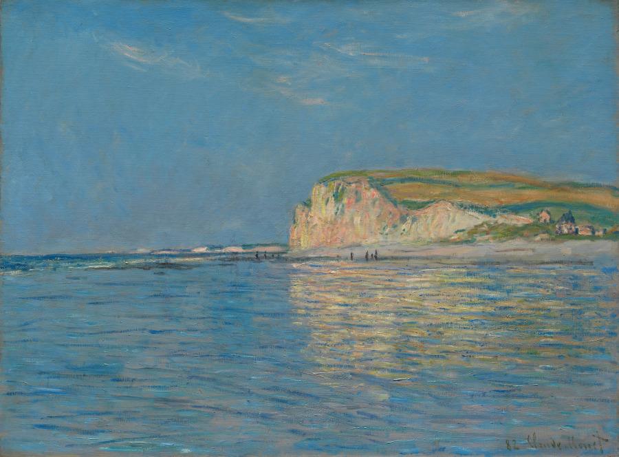 Low Tide at Pourville, near Dieppe, Claude Monet, 1882